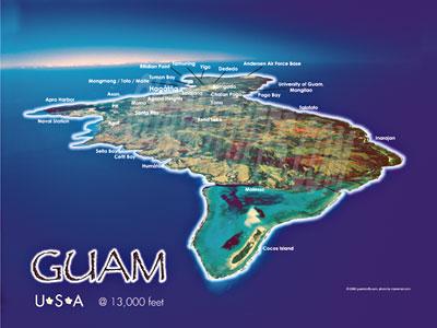 Guam Aerial Photo